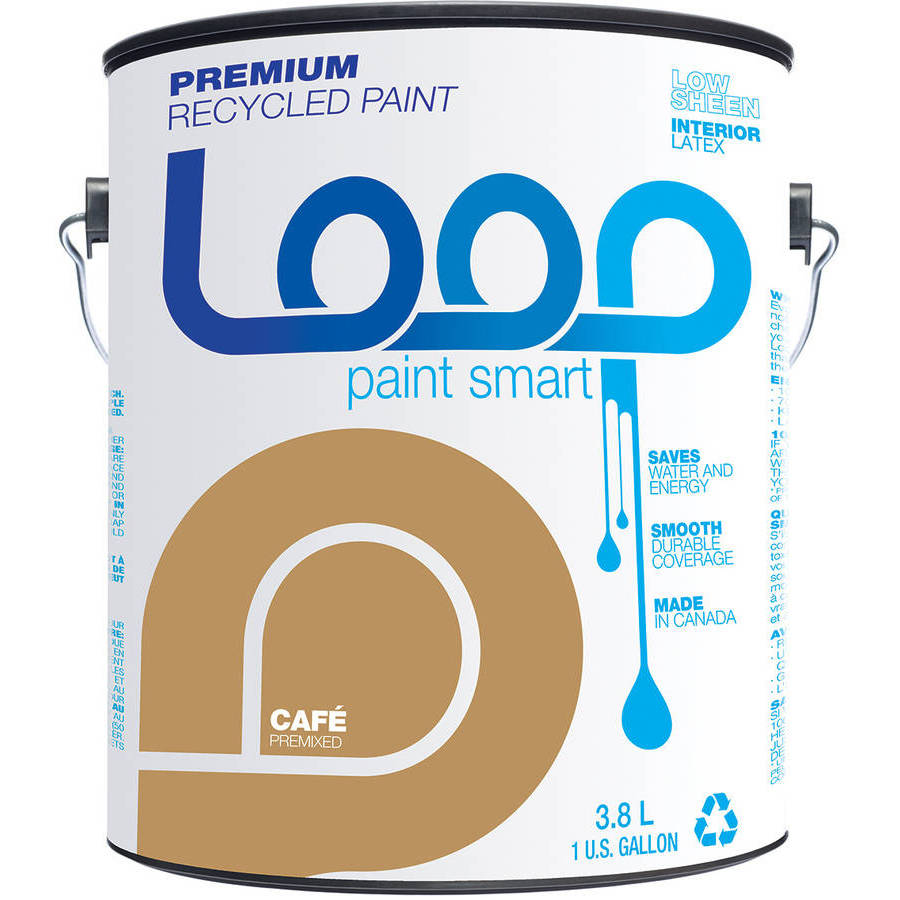 Loop Premium Recycled Paint by Loop Recycled Products Inc