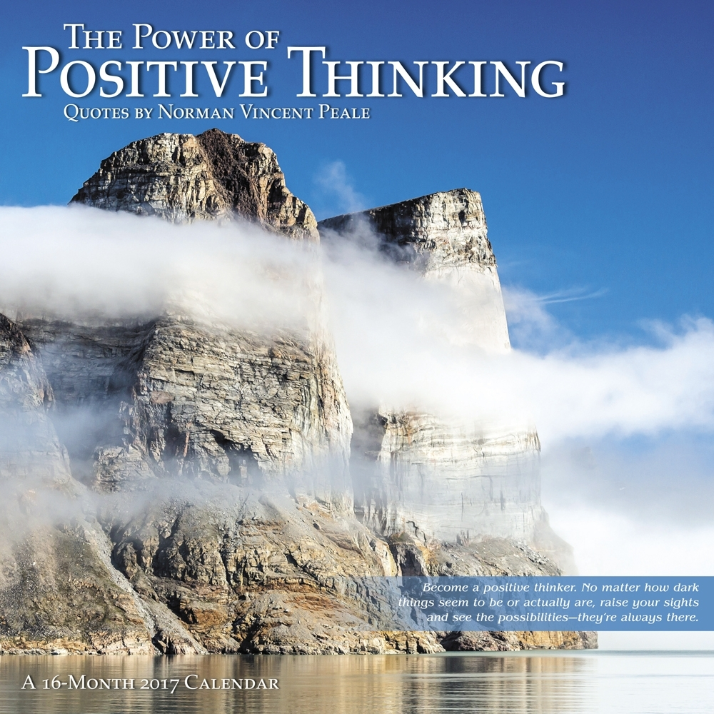 The Power of Positive Thinking Wall Calendar