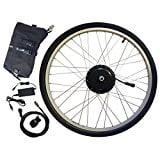 """Electric Bike Kit - Ukko 350 Watt 36 Volt Hill Topper Ranger, Lithium Battery Included (26"""" Wheel + 20 Mile Range Battery)"""