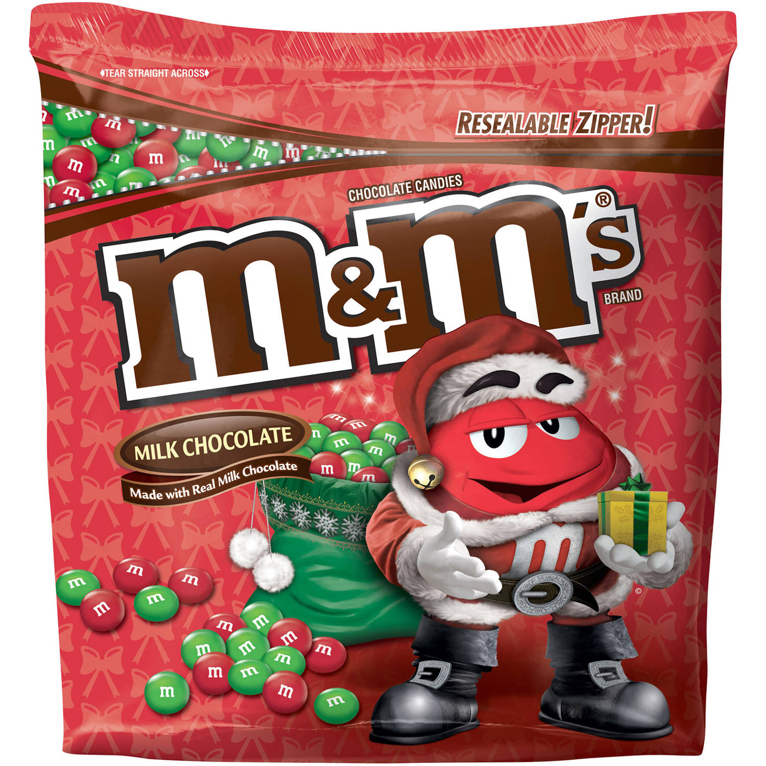 M&M's Holiday Milk Chocolate Candies, 2.6 lb