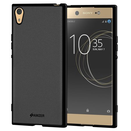 online retailer bdf38 02558 Sony Xperia XA1 Ultra Case, Premium ShockProof TPU Case Back Cover with  Screen Cleaning Kit for Sony Xperia XA1 Ultra - Black