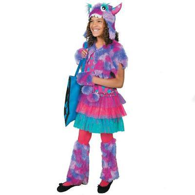 Polka Dot Monster Medium Girls Halloween Costume By Fun - Fun Halloween Costumes For Girls