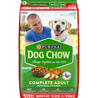 Purina Dog Chow Complete With Real Chicken Adult Dry Dog Food (Various Sizes)