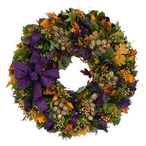 Urban Florals Fall Flair Wreath