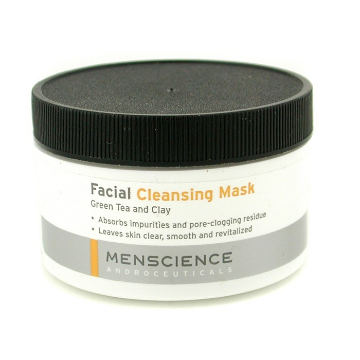 MenScience Facial Cleaning Mask - Green Tea And Clay - 90...