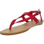 Blowfish Women's Berg Carminedcpu Ankle-High Leather Sandal - 7.5M