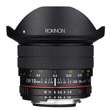 Rokinon 12mm F2.8 Ultra Wide Fisheye Lens for Nikon DSLR Cameras - Full Frame