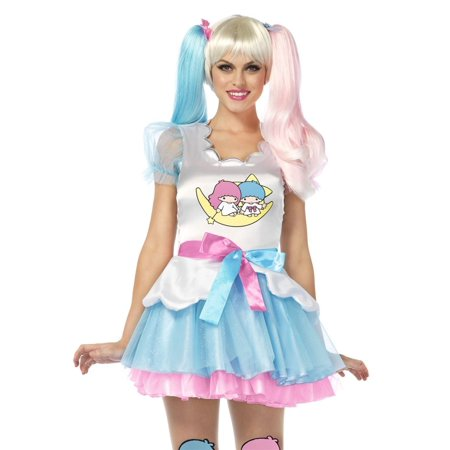 Leg Avenue Sanrio Little Twin Stars Dress Womens Adult - Twin Costume