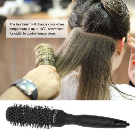 Nano Ceramic Ionic Round Hair Brush Salon Curling Combs Hair Roller Styling Round Combs High Temperature Resistant Massage Brush - image 2 of 7