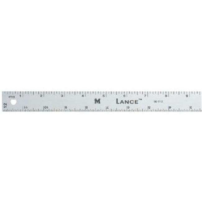 A.  Meyers & Sons SE018 18 inch Graduated Aluminum Ruler