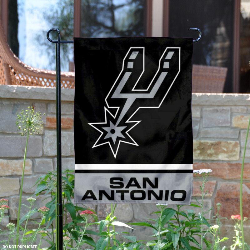 """San Antonio Spurs 12.5"""" x 18"""" NBA Garden Flag"""