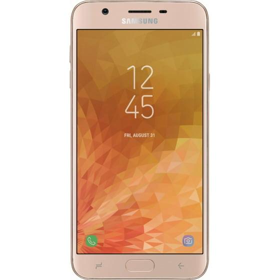 Virgin Mobile Samsung J7 Refine 32GB Prepaid Smartphone, Gold - Walmart.com