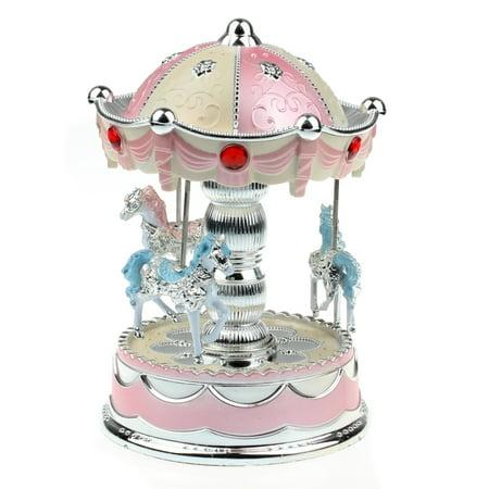 Merry-Go-Round Music Box Christmas Birthday Gift Carousel Music Box PK