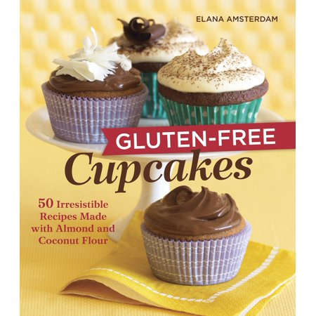 Gluten-Free Cupcakes : 50 Irresistible Recipes Made with Almond and Coconut Flour (Orange Halloween Cupcakes Recipes)