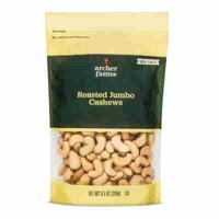 Sea Salt Roasted Jumbo Cashews 9.5oz - Archer Farms