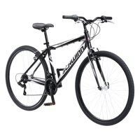 Schwinn Pathway Multi-Use Bike, 18-speed, 700c wheels, Black/Silver