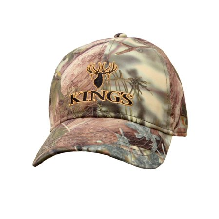 King's Camo Hunter Series Embroidered Logo Hat Mountain Shadow Men's Hunting Hat - Hunter Camouflage