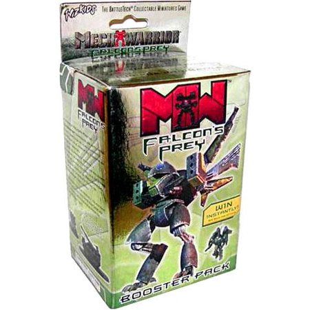 MechWarrior HeroClix Falcon's Prey Booster Pack