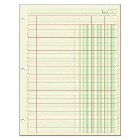 - Adams® Columnar Analysis Pad, 3 Column, 8 1/2 X 11, Single Page Format, 50 Sheets/pad