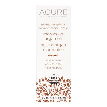 Image of Acure Aromatherapeutic Argan Oil, Coconut, 1 Fl Oz