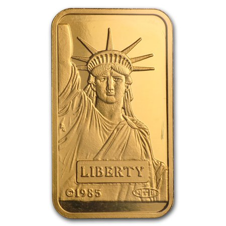 20 Gram Gold Bar   Credit Suisse Statue Of Liberty