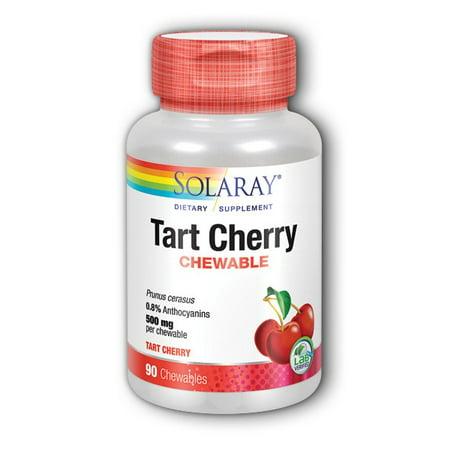 Tart Cherry Solaray 90 (Cherry 90 Chewable)