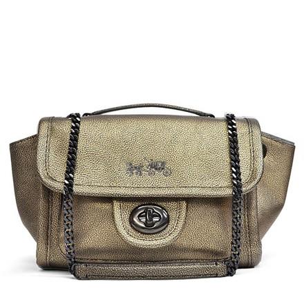 Coach Ranger Flap Leather Crossbody Shoulder Bag