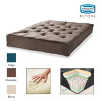 Product Image Simmons Beautyrest 8 Pocketed Coil Visco Futon Mattress