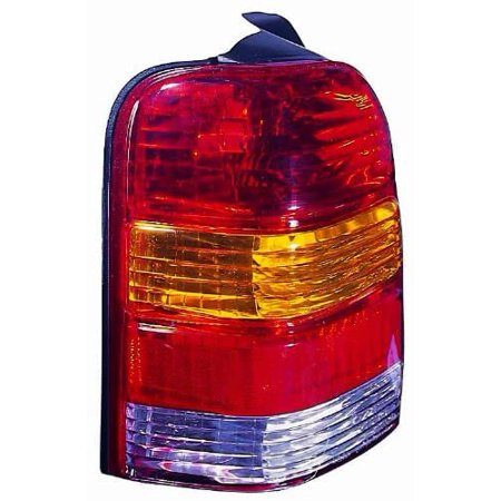 DEPO 330-1907L-UC Replacement Driver Side Tail Light Housing (This product is an aftermarket product. It is not created or sold by the OE car company) - image 1 of 1
