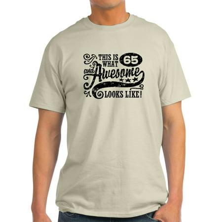 95247b07b CafePress - CafePress - 65Th Birthday - Light T-Shirt - CP - Walmart.com