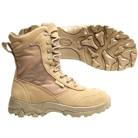 Blackhawk BH-83BT02DE-10W 10-Wide Warrior Wear Desert Ops Boots in Desert Tan