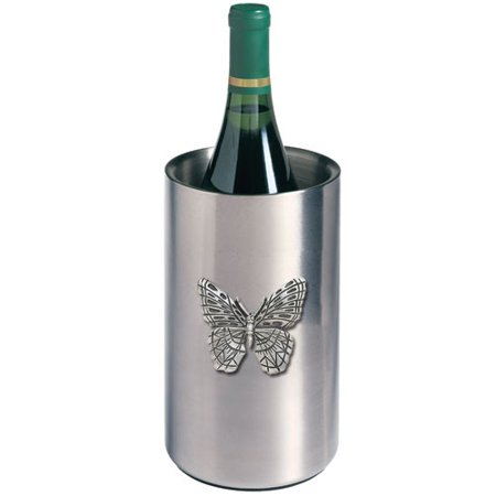 Butterfly Wine Chiller (Pewter Chiller)