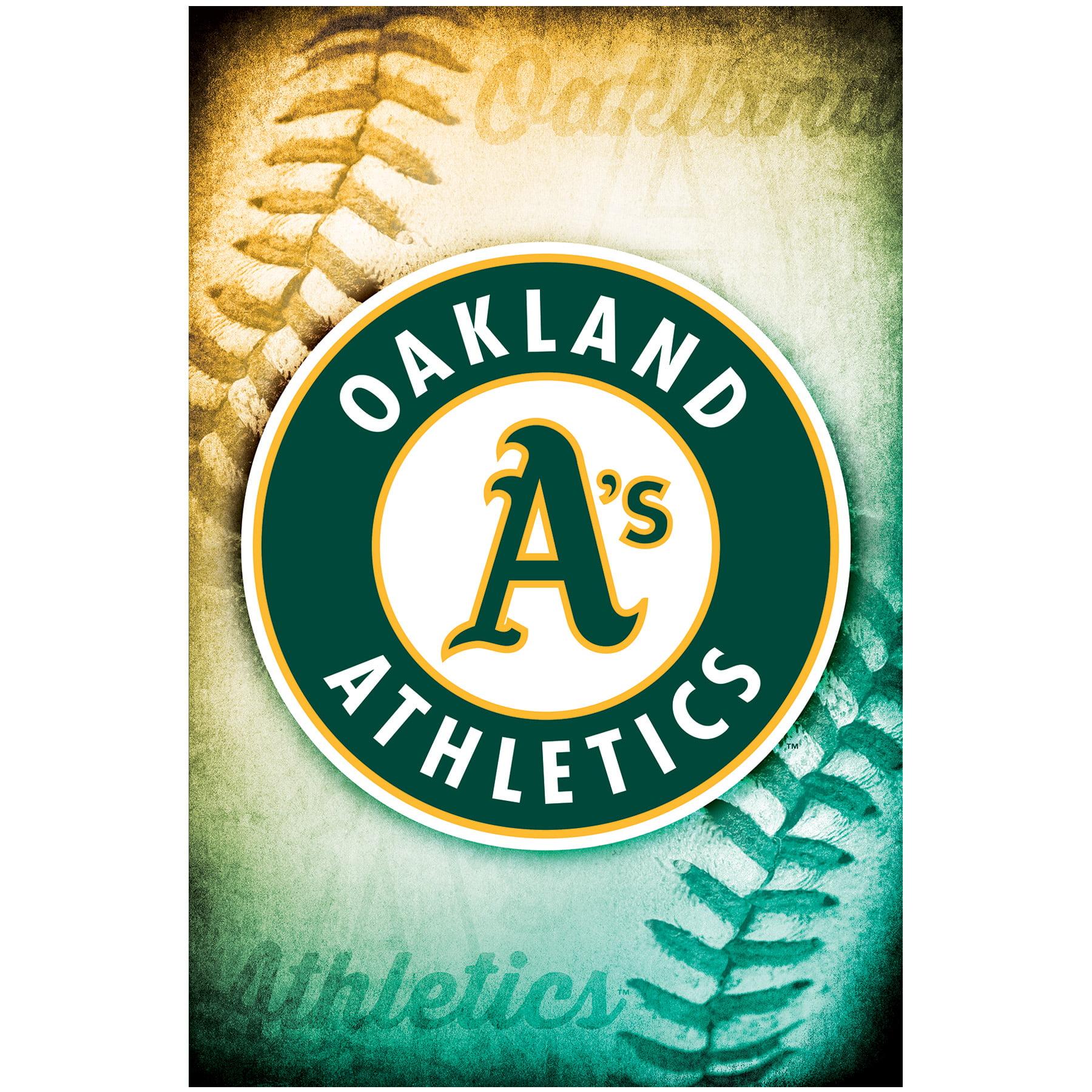 "Oakland Athletics 23"" x 34"" Logo Wall Poster - No Size"