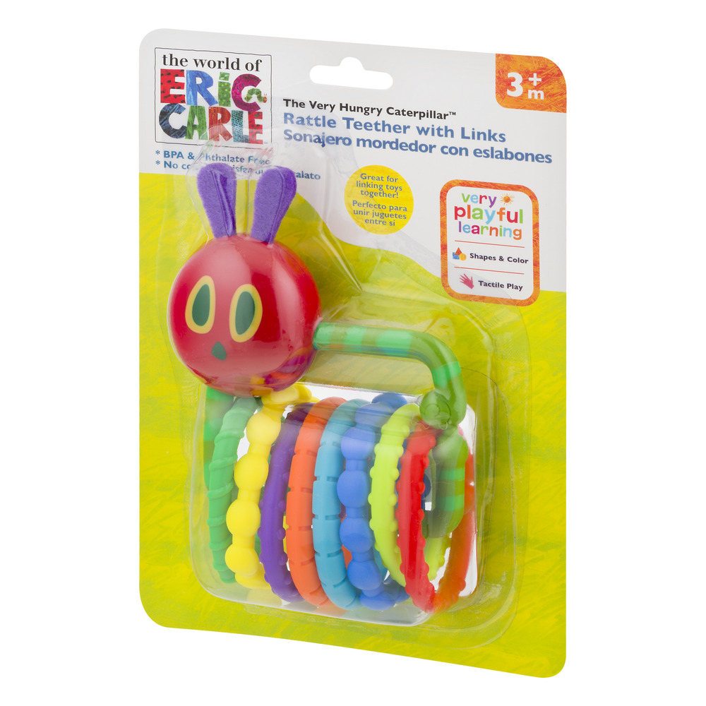 In The World Of Eric Carle The Very Hungry Caterpillar Rattle ...