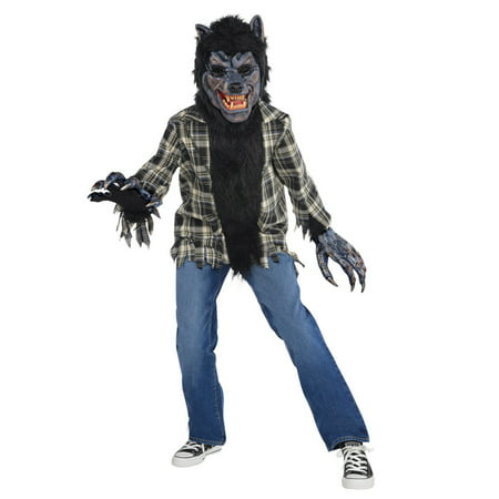 Rabid Werewolf Child Costume](Baby Werewolf Costume)