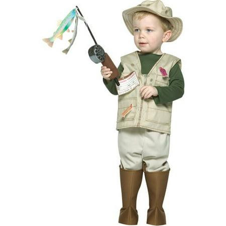 Toddler Future Fisherman Costume (Fish Man Costume)