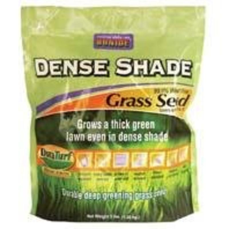 Bonide Products 60211 Duraturf Grass Seed, Dense Shade, 3-Lbs.