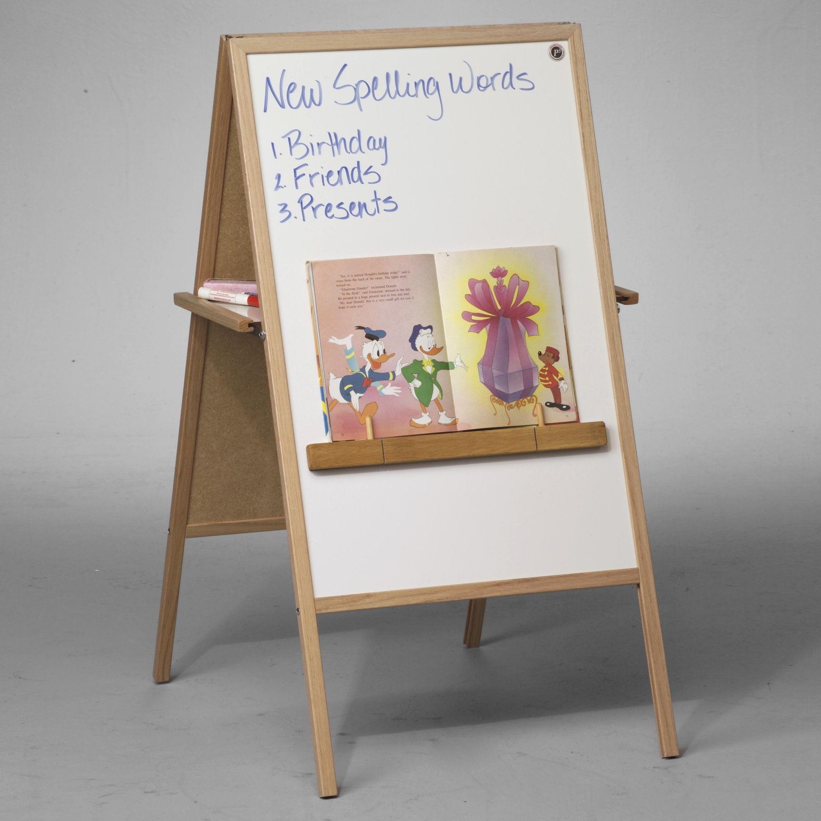 Best-Rite® Double-Sided Teacher's Magnetic Instructional Childrens Easel