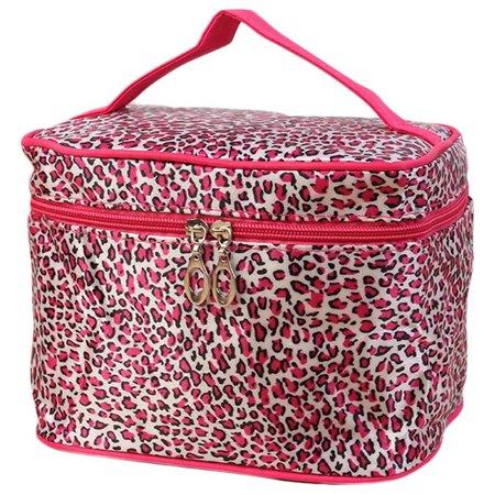 Leopard Print Cosmetic Bags Women Travel Makeup Bag Make Up Bags Hot