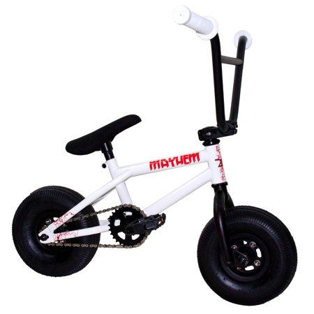 mayhem fat tire mini bmx riot shocker 1 piece crank 10 mini bmx newest model trick bike. Black Bedroom Furniture Sets. Home Design Ideas