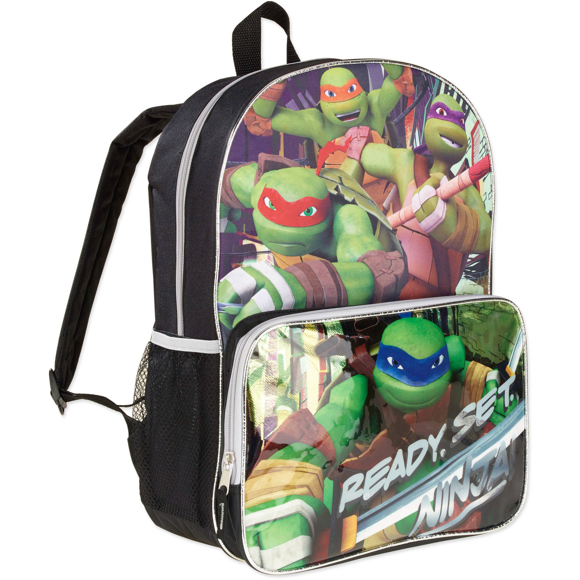 Teenage Mutant Ninja Turtles Ready Set Ninja Kids Backpack
