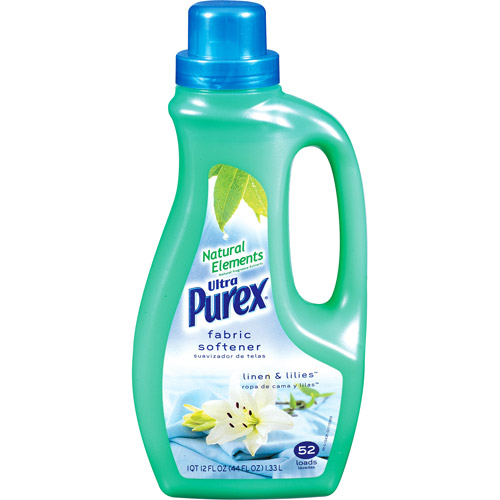 Purex Ultra Fabric Softener, Linen & Lilies, 44 fl oz