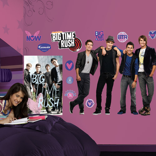 Fathead Big Time Rush