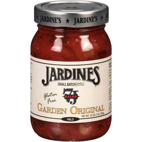 (2 Pack) Jardines Gluten Free Garden Original Salsa, 16 oz