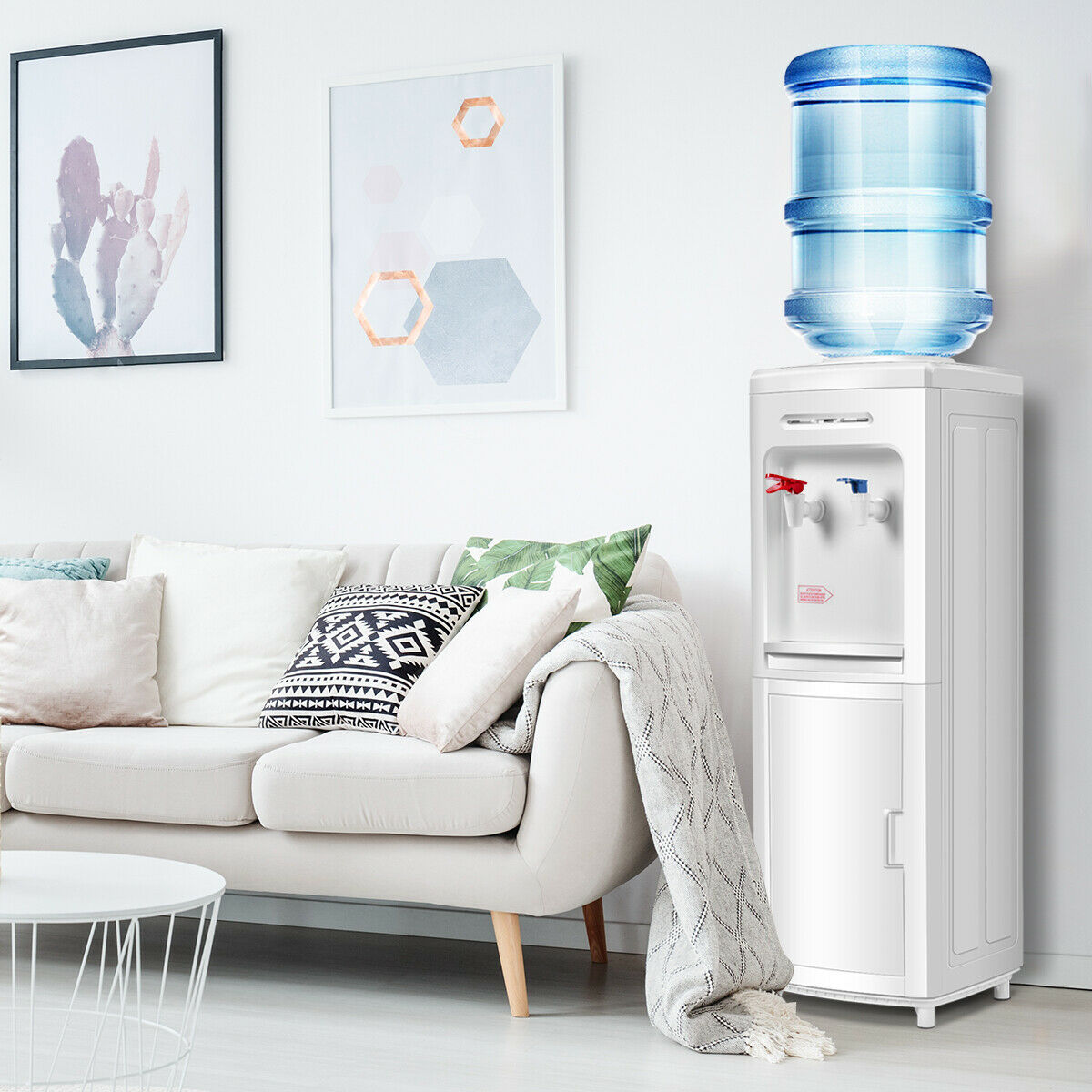 Water Dispenser 5 Gallon Bottle Load Electric Primo Home ...