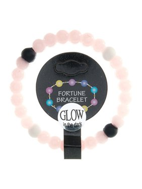 Frogsac  Glow in The Dark Silicone Fortune Bracelet with Colored Stations