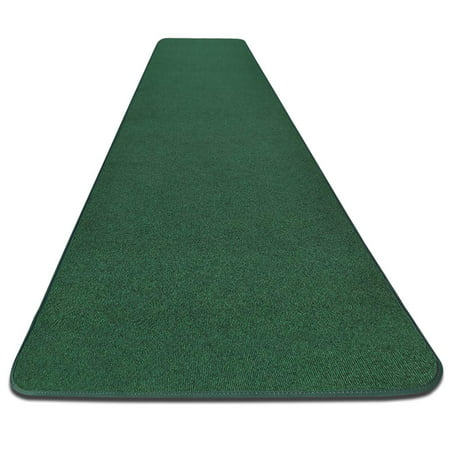 Outdoor Carpet Runner - Green - 3' x 10' - Many Other Sizes to Choose From ()