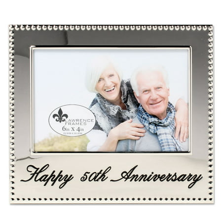 4x6 Happy 50th Anniversary Picture Frame](Happy Halloween Photo Frame)