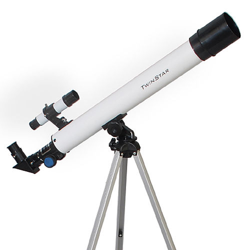 Twinstar 50mm Refractor Telescope , White