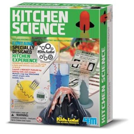 4M Kitchen Science Kit Multi-Colored